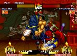 Samurai Shodown III: Blades of Blood Neo Geo Although to be a Buddhist monk, Kafuin Gaira dispenses his religion and shows very aggressiveness in the combats.