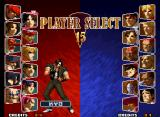 SVC Chaos: SNK vs. Capcom Neo Geo Select your fighter: a good and world-famous cast are totally available for you!