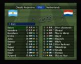 World Soccer: Winning Eleven 8 International PlayStation 2 Penalty kicks between Classic Argentina and Netherlands