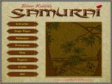 Reiner Knizia's Samurai Windows Main game screen
