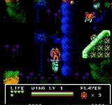 Gargoyle's Quest II NES Even the platforms are hostile - check out the beautiful background!