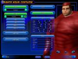 City of Heroes Windows Sliders give you complete customization of your character's head shape.  Combined with the various facial types, you have a wide range of looks for your character.