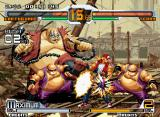 SVC Chaos: SNK vs. Capcom Neo Geo Earthquake have some help from two little bad guys in his Exceed Fat Carnival.