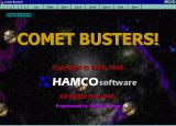 Comet Busters! Windows 3.x Title screen