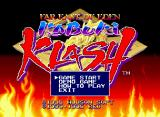 Kabuki Klash Neo Geo CD Title Screen and Main Menu