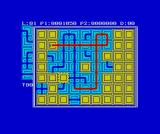 Pipe Dream ZX Spectrum Building a sequence including 3 crossovers