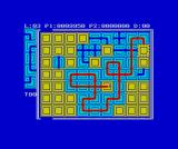 Pipe Dream ZX Spectrum A complex network on level 3