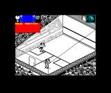 Jahangir Khan World Championship Squash ZX Spectrum Ready to serve