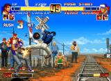 The King of Fighters '96 Neo Geo CD I don't care what you guys think, Robert Garcia's flying kick ALWAYS looks cool!