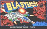 Blasteroids Atari ST Title screen