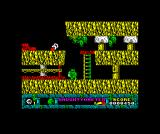 Jack the Nipper... II in Coconut Capers ZX Spectrum Crossing that tight gapNeed to avoid the green dude