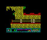 Jack the Nipper... II in Coconut Capers ZX Spectrum Crossing that tight gap