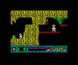Jack the Nipper... II in Coconut Capers ZX Spectrum Will need a change of plans to get over there