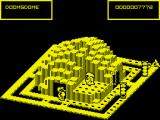 Crystal Castles ZX Spectrum This level features a tunnel...