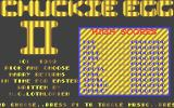 Chuckie Egg II Atari ST Title screen
