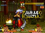 Samurai Shodown III: Blades of Blood Neo Geo Zankuro wins again: he will be a big trouble for our favorite swordsmen!
