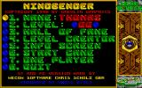 Mindbender DOS The main menu (VGA)