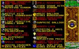 Mindbender DOS Items in the game... (VGA)