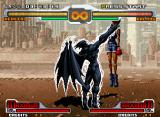 SVC Chaos: SNK vs. Capcom Neo Geo Demitri's super move Midnight Bliss.