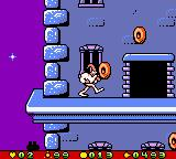 Earthworm Jim: Menace 2 the Galaxy Game Boy Color Prologue stage main objective: find some delicious goodies... :-P
