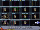 Aargon Deluxe Windows Level Selection screen