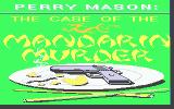 Perry Mason: The Case of the Mandarin Murder Atari ST Pretty title picture