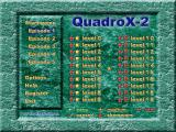 QuadroX-2 Windows Main menu
