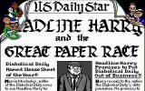 Headline Harry and The Great Paper Race DOS Meet the Diabolicals