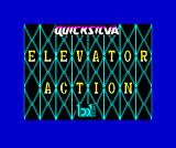 Elevator Action ZX Spectrum Loading screen