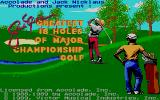 Jack Nicklaus' Greatest 18 Holes of Major Championship Golf TurboGrafx-16 Title screen