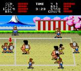 Super Dodge Ball TurboGrafx-16 The thick of the action