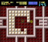 Titan TurboGrafx-16 Direct the ball into the bricks