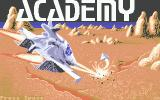 Space School Simulator: The Academy Atari ST Title screen