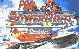 Pro Powerboat Simulator Atari ST Title screen