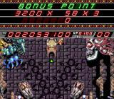 Devil's Crush TurboGrafx-16 Bonus points being awarded