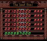 Devil's Crush TurboGrafx-16 High scores