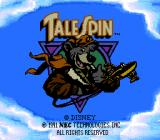 Disney's TaleSpin TurboGrafx-16 Title Screen
