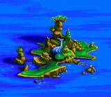 Disney's TaleSpin TurboGrafx-16 The island where you start the game.