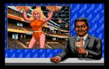 TV Sports: Basketball TurboGrafx-16 The presenter tries to look away....