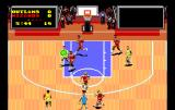 TV Sports: Basketball TurboGrafx-16 Going for the hoop
