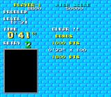 Puzznic TurboGrafx-16 Bonuses are awarded for completing a level