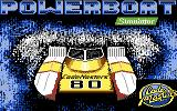 Pro Powerboat Simulator Commodore 64 Loading screen