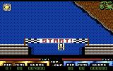 Pro Powerboat Simulator Commodore 64 Beginning a race