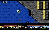 Pro Powerboat Simulator Commodore 64 Uh oh, land mass getting in the way