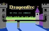 Dragonfire Commodore 64 Title screen