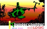 Thunderchopper DOS Title screen