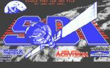 SDI: Strategic Defense Initiative Atari ST Loading screen