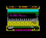 Tiger Road ZX Spectrum Running down the story