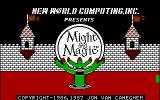Might and Magic: Book One - Secret of the Inner Sanctum DOS Title Screen 1