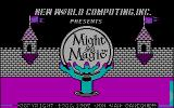 Might and Magic: Book One - Secret of the Inner Sanctum DOS Title screen (CGA)